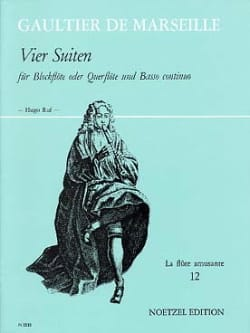 Pierre (de Marseille) Gaultier - Vier Suiten - Blockflöte o. Flute u. Bc - Sheet Music - di-arezzo.com