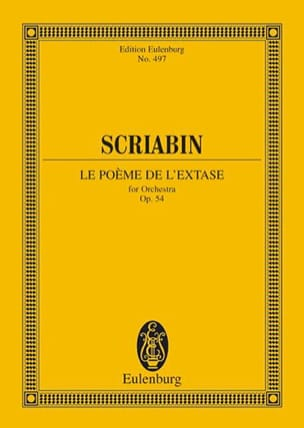 Alexandre Scriabine - The Poem of Ecstasy, Op. 54 - Conductor - Sheet Music - di-arezzo.co.uk