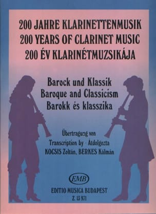 200 Years of clarinet music – Baroque and Classicism - laflutedepan.com