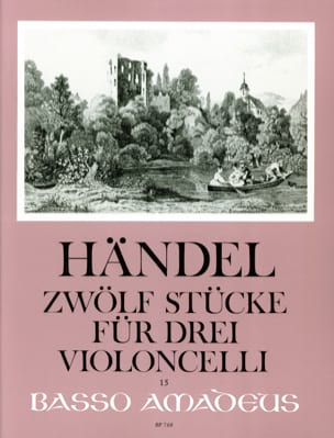 HAENDEL - 12 Pieces for 3 Cello - Sheet Music - di-arezzo.com