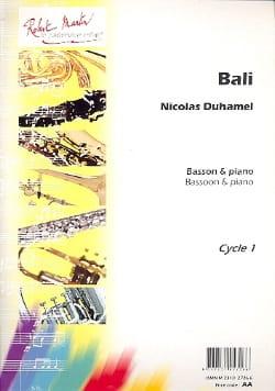 Nicolas Duhamel - Bali - Partition - di-arezzo.fr