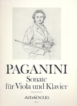Sonate für Viola und Klavier - Niccolò Paganini - laflutedepan.com