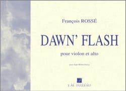 Dawn' Flash - François Rossé - Partition - 0 - laflutedepan.com
