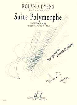 Roland Dyens - Suite polymorphe - Partition - di-arezzo.fr