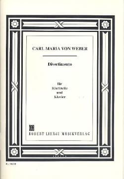 Divertimento -Klarinette Klavier - laflutedepan.com