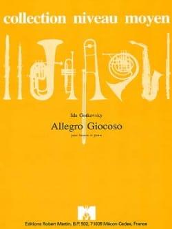 Ida Gotkovsky - Allegro Giocoso - Partition - di-arezzo.fr