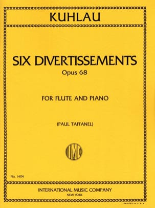 Friedrich Kuhlau - 6 Entertainment op. 68 - Sheet Music - di-arezzo.co.uk