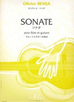 Sonate - Flûte et guitare - Olivier Bensa - laflutedepan.com