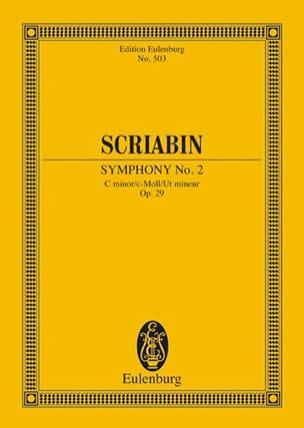 Symphonie Nr. 2 C-Moll, Op. 29 - Conducteur SCRIABINE laflutedepan