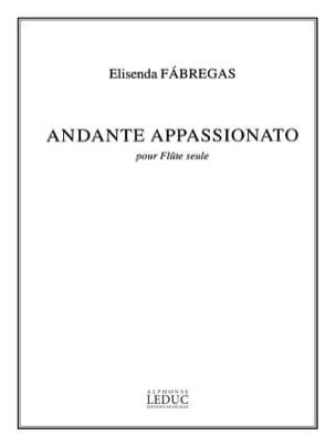 Elisenda Fabregas - Andante appassionato - Partition - di-arezzo.fr