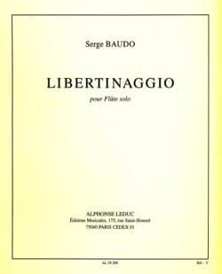 Serge Baudo - Libertinaggio - Partition - di-arezzo.fr
