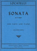Pietro Antonio Locatelli - Sonata in E major - Flute piano - Sheet Music - di-arezzo.co.uk