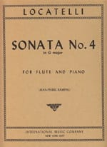 Sonata n° 4 in G major LOCATELLI Partition laflutedepan