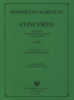Benedetto Marcello - Concerto c-Moll für Oboe – Oboe Klavier - Partition - di-arezzo.fr