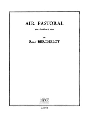 René Berthelot - Air pastoral - Partition - di-arezzo.fr