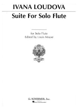 Suite - Flûte Solo Ivana Loudova Partition laflutedepan