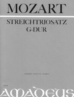 MOZART - Streichtrio G-Dur KV Anh. 66 - Partitur Stimmen - Sheet Music - di-arezzo.com