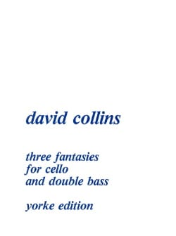 Three Fantasies for cello and double bass David Collins laflutedepan