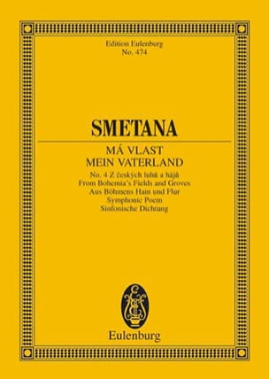 Aus Böhmens Hain und Flur - SMETANA - Partition - laflutedepan.com