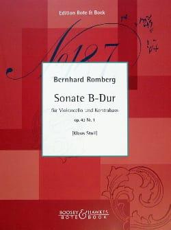 Sonate B-Dur op. 43 n° 1 – Cello Kontrabass - laflutedepan.com