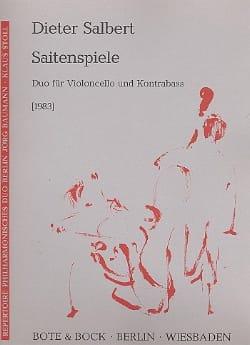 Saitenspiele - Dieter Salbert - Partition - 0 - laflutedepan.com