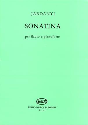 Pal Jardanyi - Sonatina – flauto e pianoforte - Partition - di-arezzo.fr