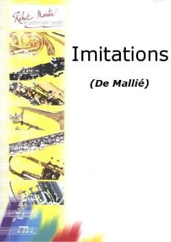 Loïc Mallié - Imitations - Partition - di-arezzo.fr