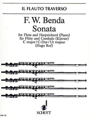 Friedrich Wilhelm Benda - Sonate C-Dur – Flöte Cembalo (Klavier) - Partition - di-arezzo.fr
