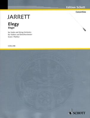 Elegy – Score - Keith Jarrett - Partition - laflutedepan.com