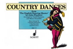 Country Dances - John Playford - Partition - laflutedepan.com