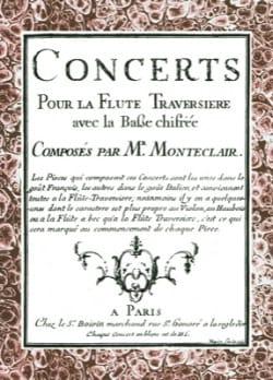 Concerts Pour la Flûte Traversière Avec la Basse Chiffrée - laflutedepan.com