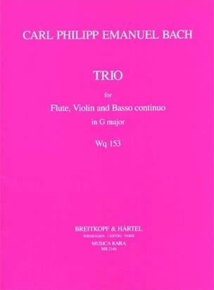 Trio G major Wq. 153 -Flute violin Bc laflutedepan