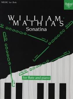 Sonatina - Flûte et Piano William Mathias Partition laflutedepan