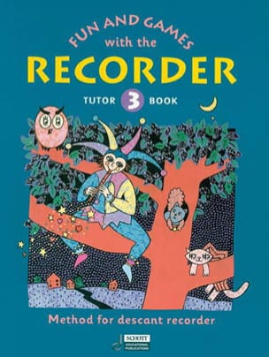 Heyens Gudrun / Engel Gerhard - Fun and games with the recorder - Tutor 3 - Partition - di-arezzo.fr