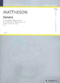 Sonate A-Dur - Flöte o. Violine und Bc - laflutedepan.com