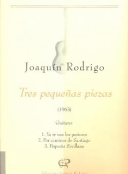 3 Pequenas piezas - Joaquin Rodrigo - Partition - laflutedepan.com