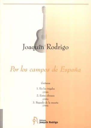 Joaquin Rodrigo - Por los campos de Espana -Guitarra - Partition - di-arezzo.fr