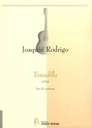 Tonadilla –2 Guitarras - Joaquín Rodrigo - laflutedepan.com