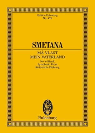 Bedrich Smetana - Blanik - Partition - di-arezzo.fr