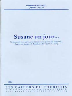 Giovanni Bassano - Susane un jour... - Partition - di-arezzo.fr