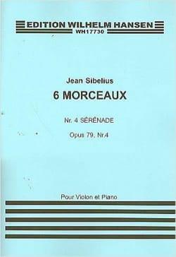 Jean Sibelius - Sérénade op. 79 n° 4 - Partition - di-arezzo.fr