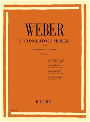 Concerto Clarinette n° 2 mib majeur op. 74 - laflutedepan.com