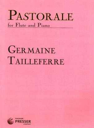 Pastorale Germaine Tailleferre Partition laflutedepan