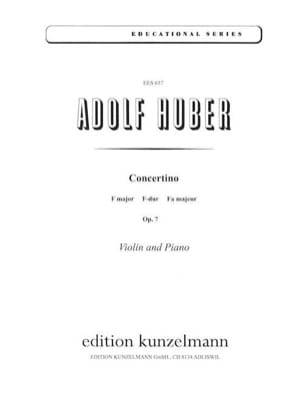 Adolf Huber - Concertino F-Dur, op. 7 - Sheet Music - di-arezzo.co.uk