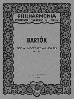 Der wunderbare Mandarin op.19 - Partitur BARTOK Partition laflutedepan