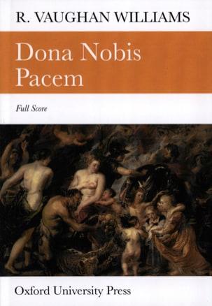 Williams Ralph Vaughan - Dona nobis pacem – Score - Partition - di-arezzo.fr