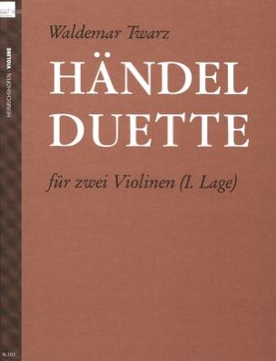 HAENDEL - Händel Duette - Partition - di-arezzo.fr