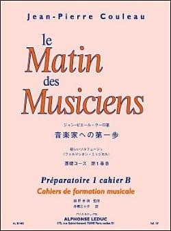 Jean-Pierre Couleau - La mañana de los músicos - P1 Notebook B - Partitura - di-arezzo.es