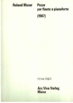 Pezzo per flauto e pianoforte - Roland Moser - laflutedepan.com