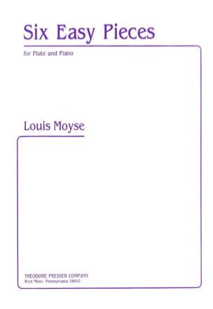 6 Easy pieces - Flute piano - Louis Moyse - laflutedepan.com